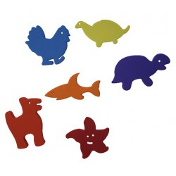 SET ANIMALES FOAM