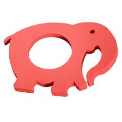 Tapiz con forma de elefante