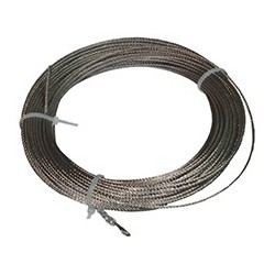 Cable acero inoxidable 3mm para corchera - metro lineal -