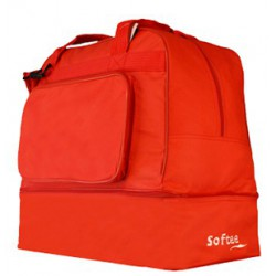 BOLSA ZAPATILLERO GRANDE TEAM COLOR ROJO VIVO ROJO SOFTEE