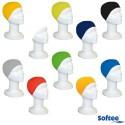 Gorro natación silicona SOFTEE ADULTO, colores variados