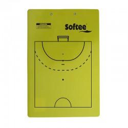 Carpeta táctica veleda reversible fútbol